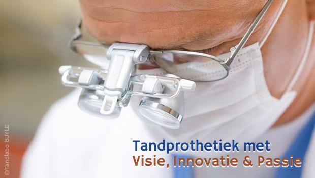 Tandprothetiek met visie, innovatie en passie