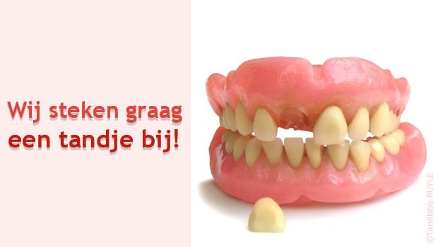 Wij steken graag een tandje bij!